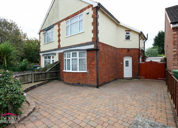 Thumbnail 2 bed semi-detached house for sale in Cyril Street, Leicester