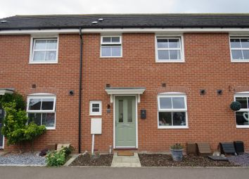 Thumbnail 3 bed terraced house for sale in Hillside Gardens, Wittering, Peterborough