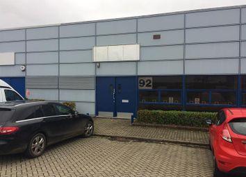 Thumbnail Light industrial to let in Unit 92 Tanners Drive, Blakelands, Milton Keynes, Buckinghamshire