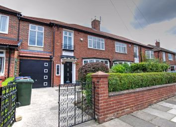 Thumbnail 4 bedroom property for sale in Marlborough Avenue, Gosforth, Newcastle Upon Tyne