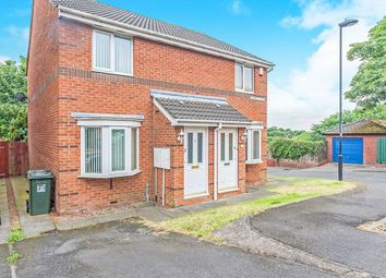 Thumbnail 2 bed semi-detached house for sale in Bishops Close, Wallsend