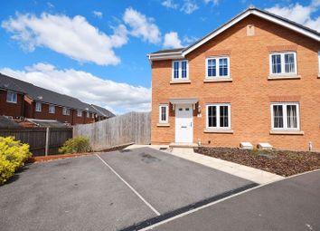 Thumbnail 3 bedroom semi-detached house for sale in Darwin Drive, Burslem, Stoke-On-Trent