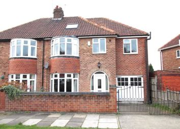 Thumbnail 5 bedroom semi-detached house for sale in Cranbrook Road, York