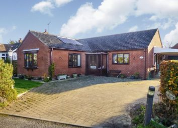 Thumbnail 2 bed detached bungalow for sale in Mill Road, Potter Heigham, Great Yarmouth