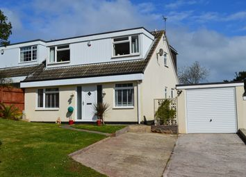 Thumbnail 4 bed semi-detached house for sale in Pentridge Avenue, Livermead, Torquay