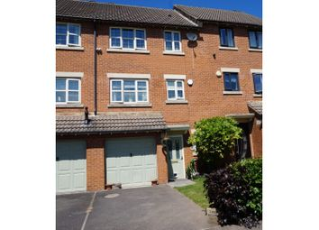 Thumbnail 4 bed town house for sale in Bellmer Close, Barnsley