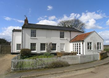 Thumbnail 4 bed detached house for sale in Frostenden Corner, Frostenden, Beccles, Suffolk