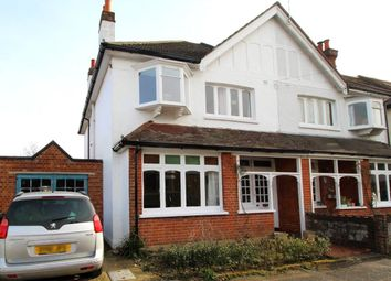 Thumbnail 4 bed semi-detached house for sale in Upper St. Michaels Road, Aldershot, Hampshire