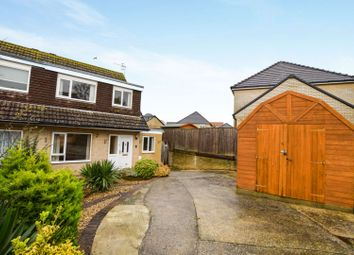 Thumbnail 3 bedroom semi-detached house for sale in Tyneham Close, Weymouth