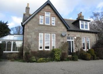 Thumbnail 4 bedroom detached house to rent in Drumoak, Aberdeenshire