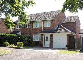 Thumbnail 4 bed semi-detached house for sale in Crosslands, Stantonbury, Milton Keynes