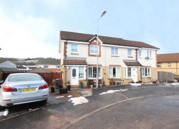 Thumbnail 3 bed semi-detached house for sale in Hannah Place, Renton, Dumbarton, West Dunbartonshire