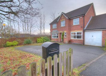 Thumbnail 5 bedroom detached house for sale in Knights Templar Way, Coventry