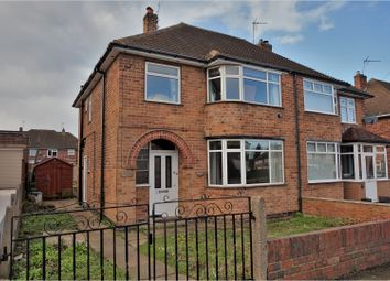 Thumbnail 3 bed semi-detached house for sale in Denmead Avenue, Wigston