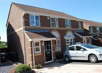 Thumbnail 3 bed semi-detached house for sale in Priors Way, Wallsend