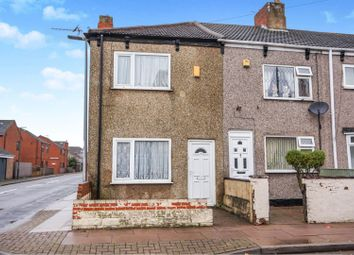 Thumbnail 3 bed end terrace house for sale in Stanley Street, Grimsby