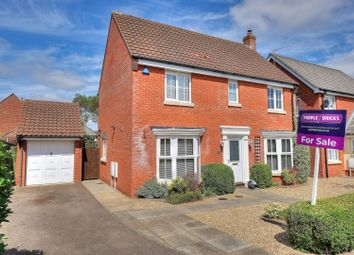 Thumbnail 4 bed detached house for sale in The Cains, Norwich