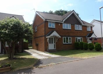 Thumbnail 3 bed property to rent in Bridle Close, Upton, Poole