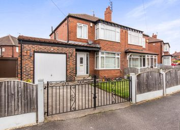 Thumbnail 3 bed semi-detached house for sale in Manston Crescent, Crossgates, Leeds