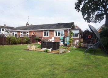 Thumbnail 3 bed detached bungalow for sale in Alexander Close, Christchurch