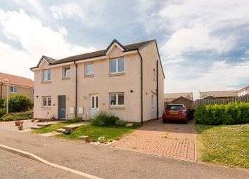 Thumbnail 3 bed semi-detached house for sale in Rennie Drive, Dunbar, East Lothian