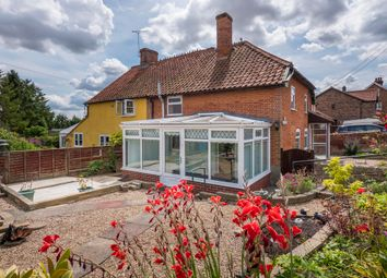 Thumbnail 2 bed semi-detached house for sale in Duke Street, Hintlesham, Ipswich