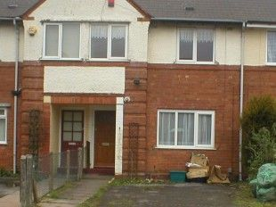 Thumbnail 3 bed terraced house to rent in Holcombe Road, Birmingham