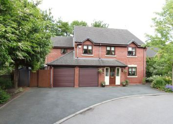 Thumbnail 4 bed detached house for sale in Dellbrook Court, Clayton Road, Newcastle-Under-Lyme