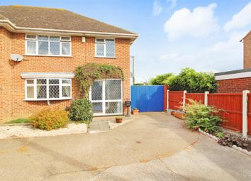 Thumbnail 3 bed semi-detached house for sale in Sweechgate, Broad Oak, Canterbury