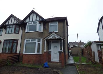 Thumbnail 3 bed semi-detached house for sale in Chester Road, Wrexham, Wrecsam, .