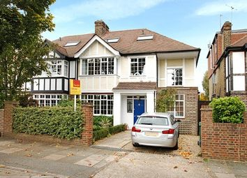 Thumbnail 5 bed semi-detached house to rent in Ferry Road, Barnes