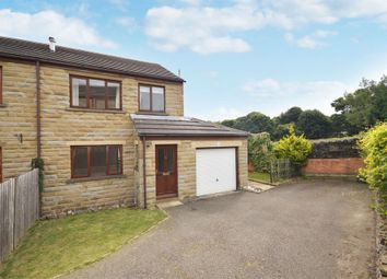 Thumbnail 3 bed semi-detached house for sale in Well Ings Close, Shepley, Huddersfield, West Yorkshire
