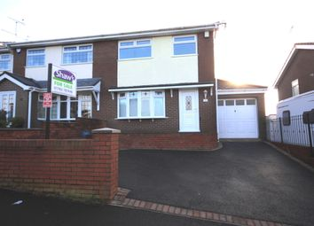 Thumbnail 3 bed semi-detached house for sale in Whiteridge Road, Kidsgrove, Stoke-On-Trent