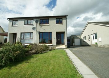 Thumbnail 3 bedroom semi-detached house to rent in Brentfield Circle, Ellon, Aberdeenshire