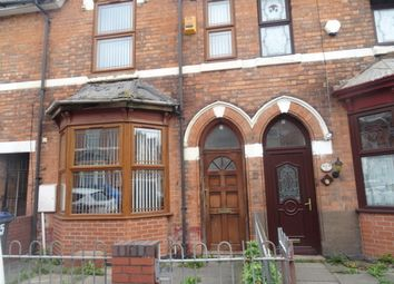 Thumbnail 3 bed terraced house to rent in Hampton Road, Aston