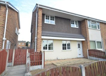Thumbnail 3 bed semi-detached house to rent in Laburnum Court, Castleford