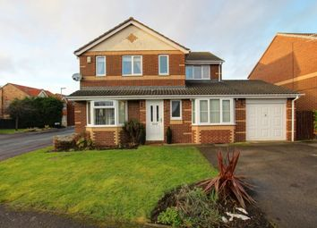 Thumbnail 4 bed detached house for sale in St. Cuthberts Drive, Sacriston, Durham