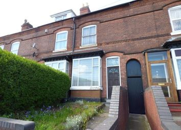 Thumbnail 3 bed terraced house for sale in Wiggin Street, Birmingham, West Midlands