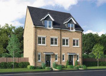 "Thumbnail 3 bedroom semi-detached house for sale in ""The Halton"" at Choppington Road, Bedlington"