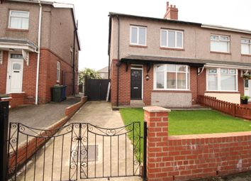 Thumbnail 3 bedroom semi-detached house for sale in Benwell Hill Gardens, Newcastle Upon Tyne