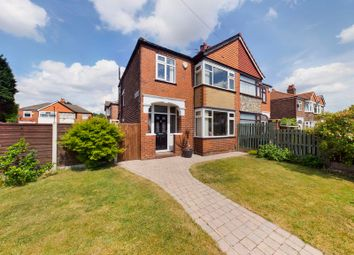 Thumbnail 3 bed semi-detached house for sale in Cromford Avenue, Stretford, Manchester