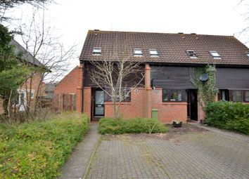 Thumbnail 1 bed end terrace house for sale in Tallis Lane, Browns Wood, Milton Keynes