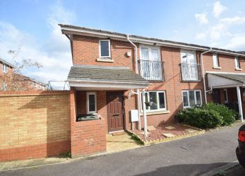 Thumbnail 3 bed end terrace house to rent in Primrose Close, Luton