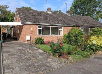Thumbnail 2 bed semi-detached bungalow for sale in Mentone Crescent, Edgmond, Newport