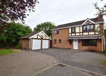 Thumbnail 4 bed detached house for sale in Orchard Close, Ravenstone
