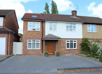 Thumbnail 4 bed semi-detached house for sale in The Ridgeway, St Albans, Hertfordshire
