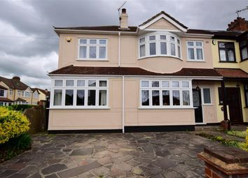 Thumbnail 4 bed end terrace house for sale in Shirley Gardens, Hornchurch, Essex