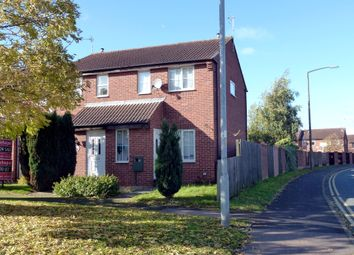 Thumbnail 2 bed end terrace house to rent in Barley Close, Burton-On-Trent, Staffordshire