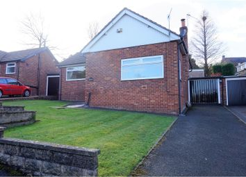 Thumbnail 3 bed bungalow for sale in Oakwood Road, Disley