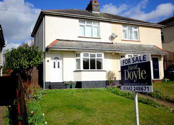 Thumbnail 2 bedroom semi-detached house for sale in Chapel Street, Hemel Hempstead